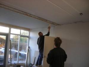 Aanbouw, uitbreiding woonkamer
